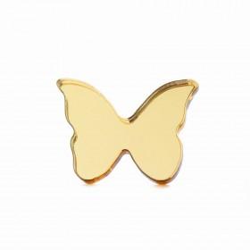 Брошь Бабочка малая (золото)