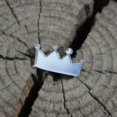 Брошь Princess Crown (серебро)
