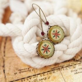 Серьги Compass