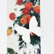 Брошь Бабочка белая