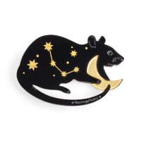 Брошь созвездие Мышь