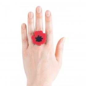 Кольцо Poppy Flower