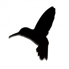 Брошь Колибри черная