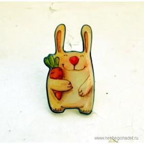 Брошь Морковное настроение