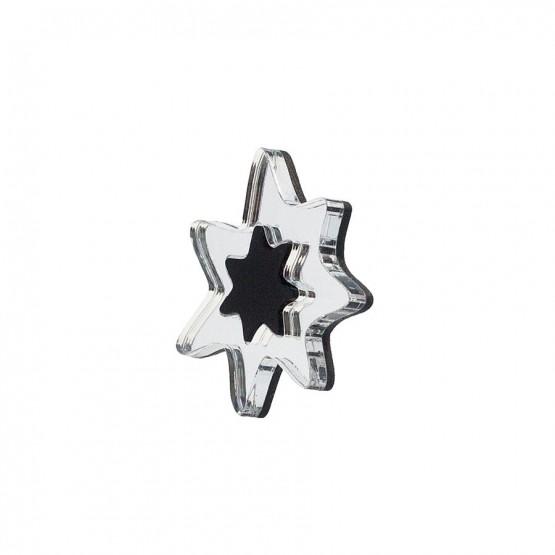 Брошь Silver Star
